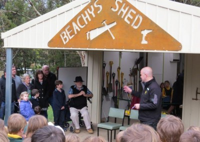 Beachy's Shed Opening